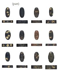 A group of twenty fuchi-kashir