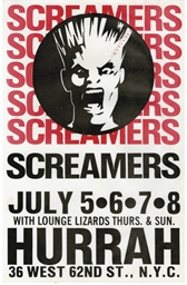 Los Angeles Punk Flyers