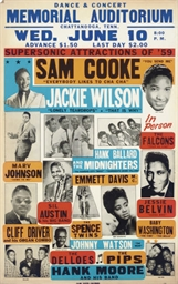 Sam Cooke and Jackie Wilson