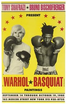Andy Warhol/Jean Michel Basquiat