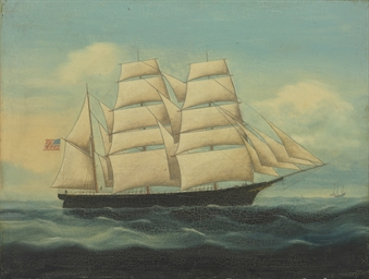 The clipper ship Hayden Brown