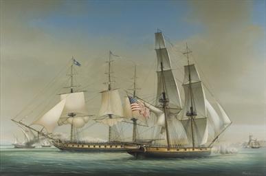 The U.S. Mediterranean Squadro