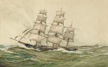 The Clipper ship Racer of New
