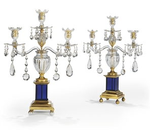 A PAIR OF GEORGE III ORMOLU, C