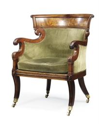 A SCOTTISH REGENCY MAHOGANY LA