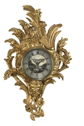 A GEORGE II GILTWOOD CARTEL CL