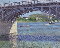 Le pont d'Argenteuil et la Seine