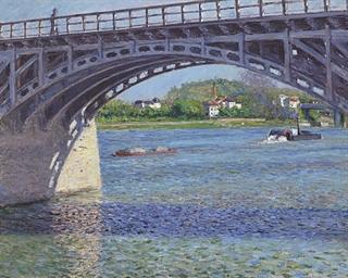 Le pont d'Argenteuil et la Sei