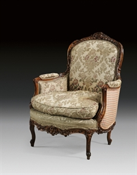 A FRENCH BEECHWOOD BERGERE