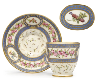 A SEVRES REVOLUTIONARY CUP AND