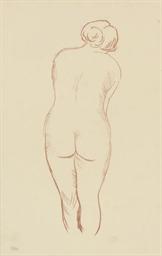 Femme nue de dos (Guérin 278)