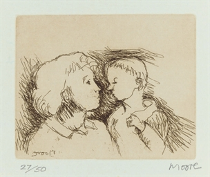 Henry Moore Mother and Child,