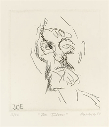 Joe Tilson, from Six Etchings