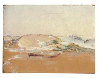 La petite dune au soir