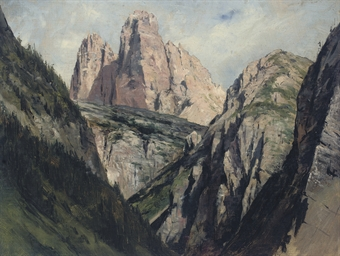 A mountain pass