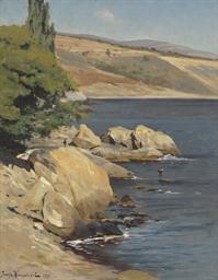 A rocky shore, Crimea