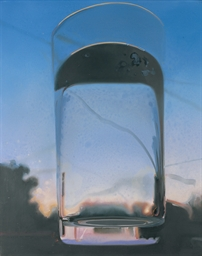 Glass sunset, from the series