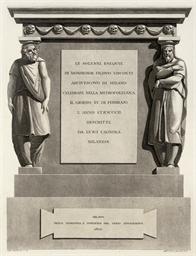 CAGNOLA, Luigi (1762-1833). Le