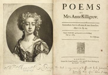 KILLIGREW, Anne (1660-85).  Po