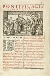 PONTIFICAL -- Pontificale roma