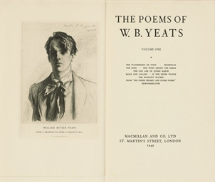 YEATS, William Butler (1865-19