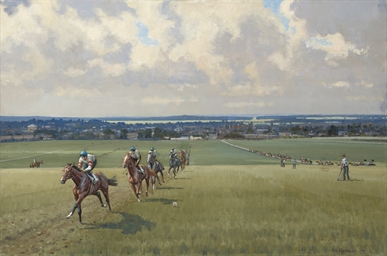 Warren Hill, towards Newmarket