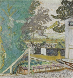 La terrasse sur la Seine, Vern