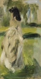 Jeune femme debout (Lise Trého