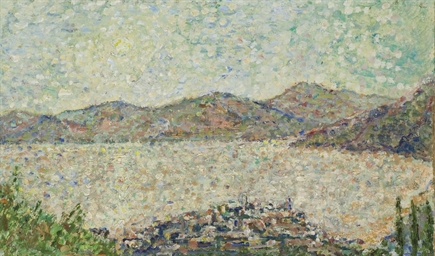 Vue sur la baie de Saint-Trope