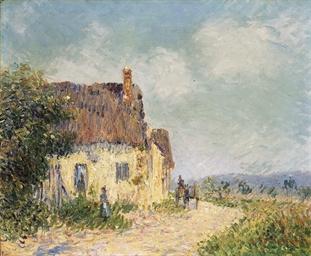 La maison blanche à Saint-Cyr-