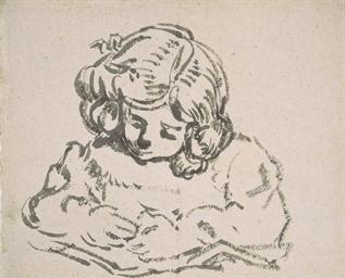Louis-André dessinant (fils de
