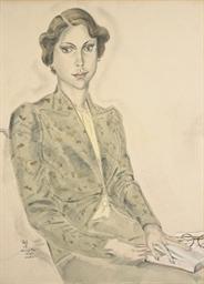 Portrait de l'épouse de l'amba