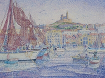 Séchage des filets à Marseille