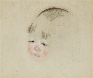 Tête d'enfant (Mathilde)