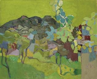 Grüne Landschaft, 1956