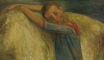 L'enfant forain avec cheval blanc, 1931/32