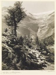 Alp Grüm mit Palügletscher