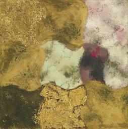 Abstraktion nach einem goldene