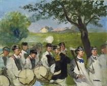 Festumzug, um 1890