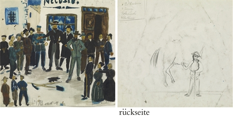 Nach der Bärenjagd, 1911/12  r
