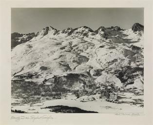 St. Moritz und sein Skigebiet