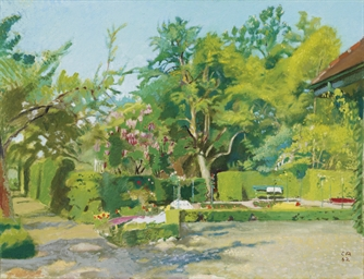 Garten III, 1942