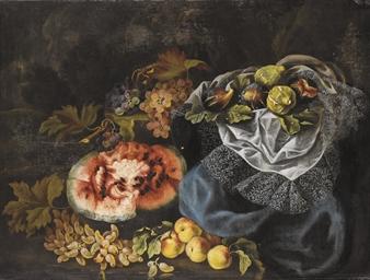Natura morta di frutta con ang
