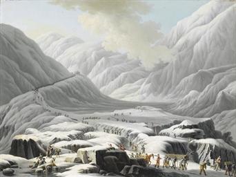 Passaggio delle Alpi al Gran S
