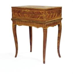 TABLE A JEUX DU MILIEU DU XVII