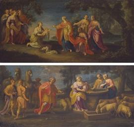Moïse sauvé des Eaux; Rebecca
