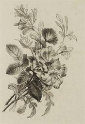 Un bouquet comprenant une rose