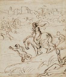 Clélie traversant le Tibre pou