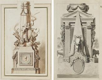 Etude pour un monument funérai
