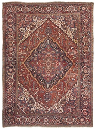 A fine Heriz carpet, North Wes